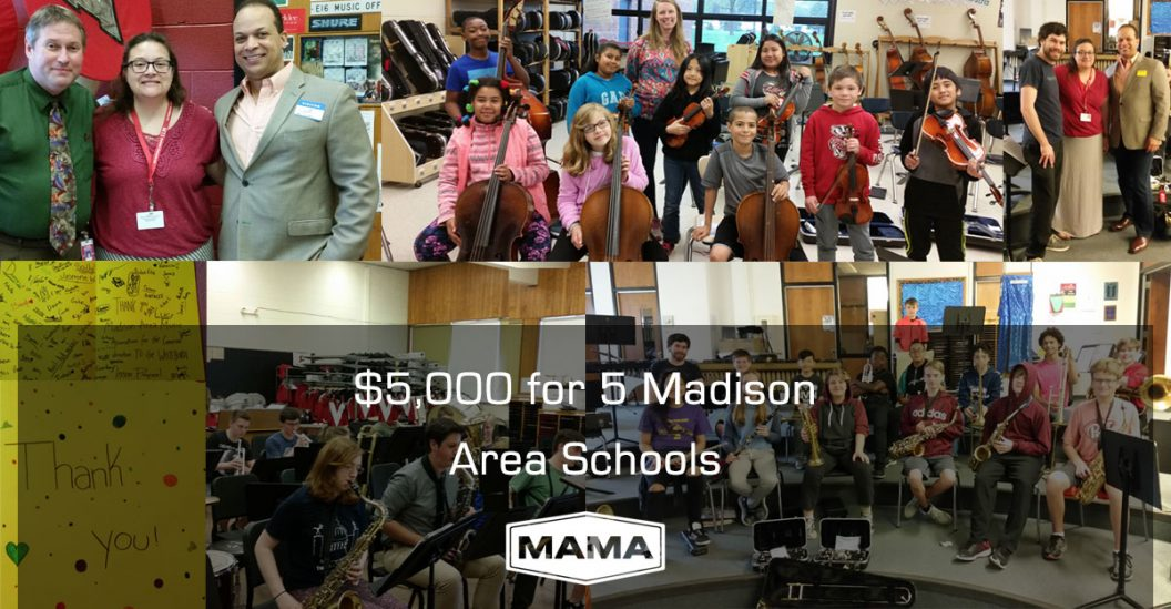 $5,000 for 5 Madison Area Schools